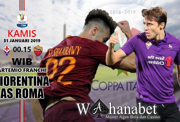 Pertandingan Fiorentina vs Roma