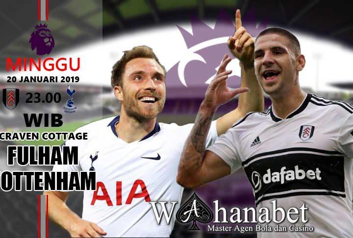 Pertandingan Fulham vs Tottenham