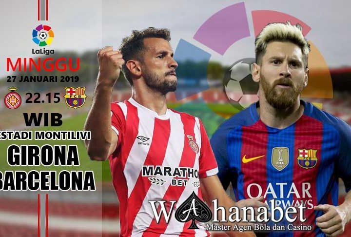 Pertandingan Girona vs Barcelona