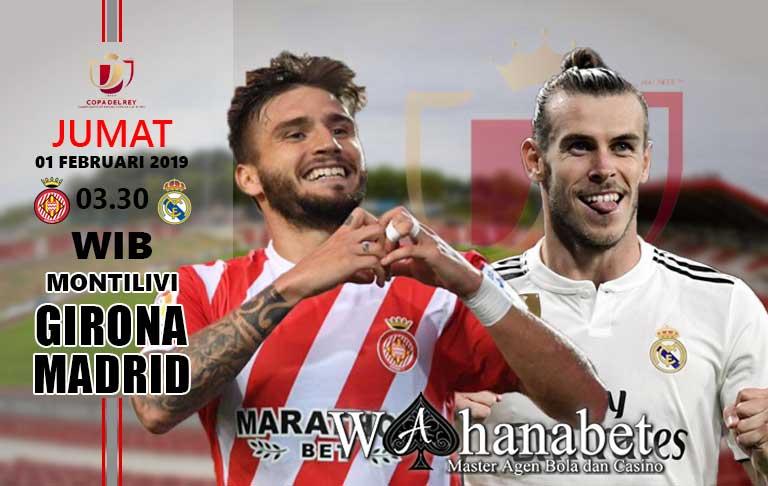 Pertandingan Girona vs Real Madrid