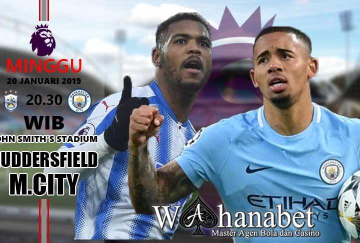 Pertandingan Huddersfield vs Manchester City