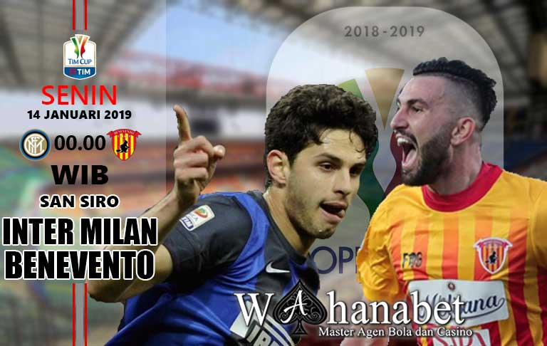 Pertandingan Inter Milan vs Benevento