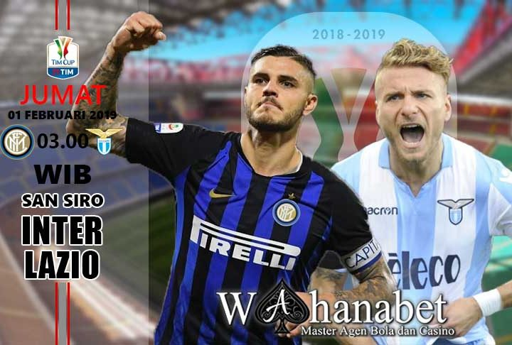 Pertandingan Inter vs Lazio