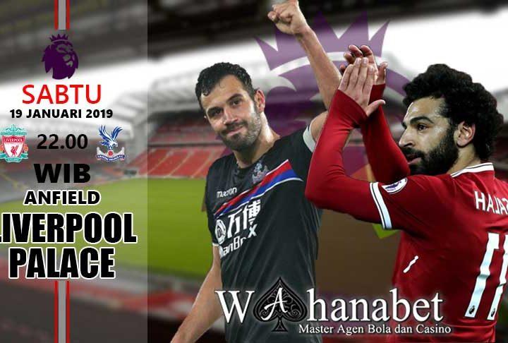 Pertandingan Liverpool vs Crystal Palace