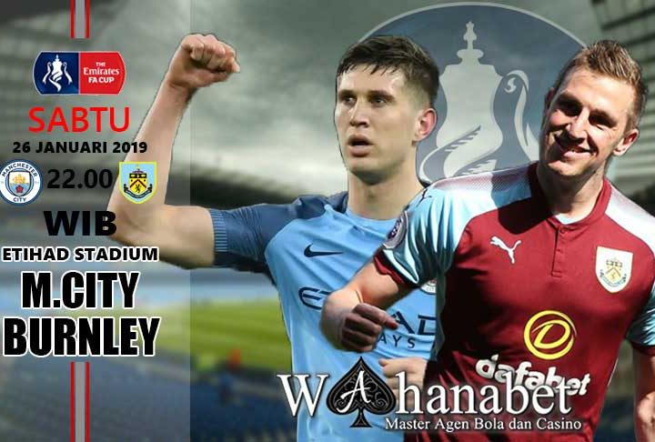 Pertandingan Manchester City vs Burnley