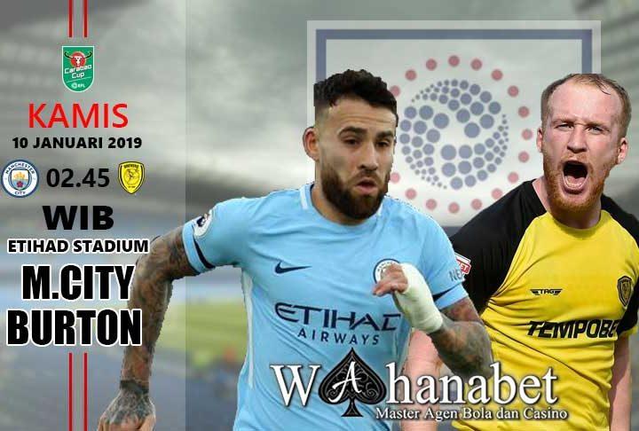 Pertandingan Manchester City vs Burton Albion
