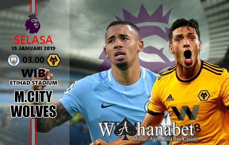 Pertandingan Manchester City vs Wolverhampton