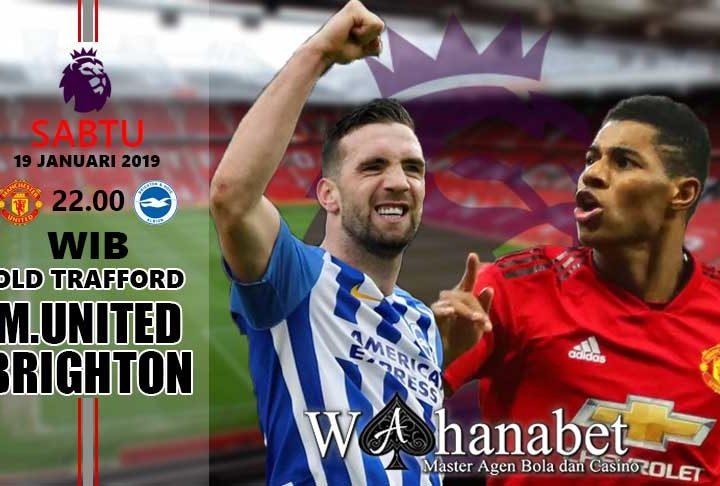Pertandingan Manchester United vs Brighton