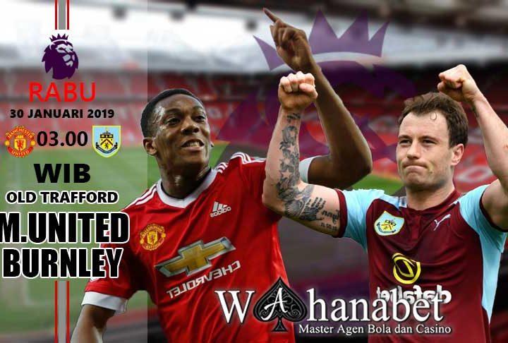 Pertandingan Manchester United vs Burnley