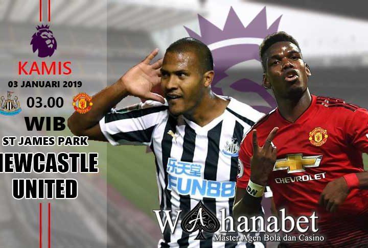 Pertandingan NewcastlevsManchester United