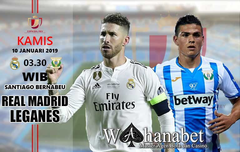 Pertandingan Real Madrid vs Leganes