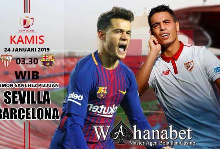 Pertandingan Sevilla vs Barcelona