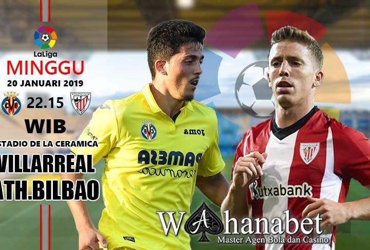 Pertandingan Villarreal vs Athletic Bilbao