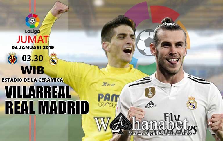 Pertandingan VillarrealvsReal Madrid