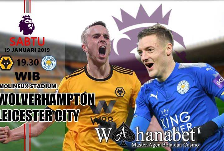 Pertandingan Wolverhampton vs Leicester