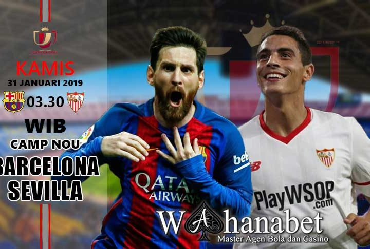 Pertandingan Barcelona vs Sevilla