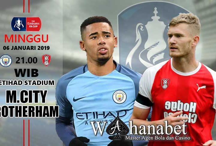 Pertandingan Manchester City vsRotherham United