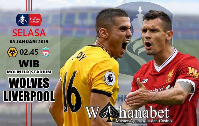 Pertandingan Wolverhampton vs Liverpool