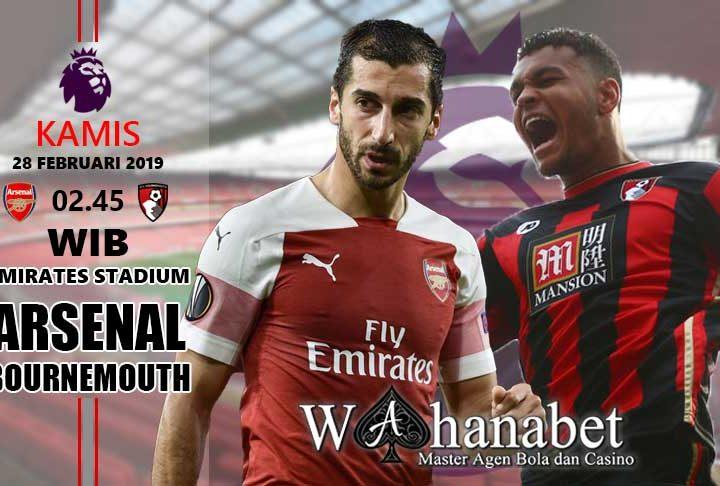 Pertandingan Arsenal vs Bournemouth