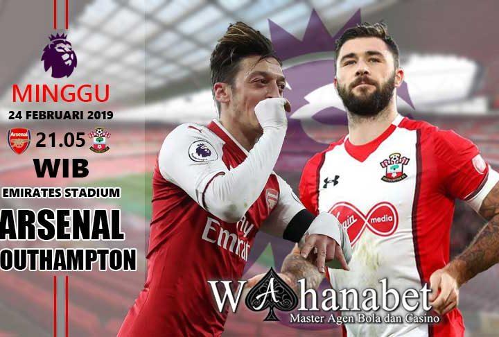 Pertandingan Arsenal vs Southampton