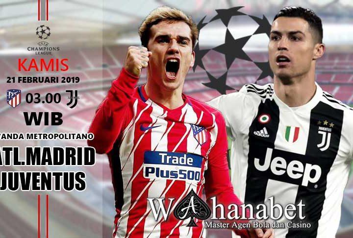 Pertandingan Atletico Madrid vs Juventus