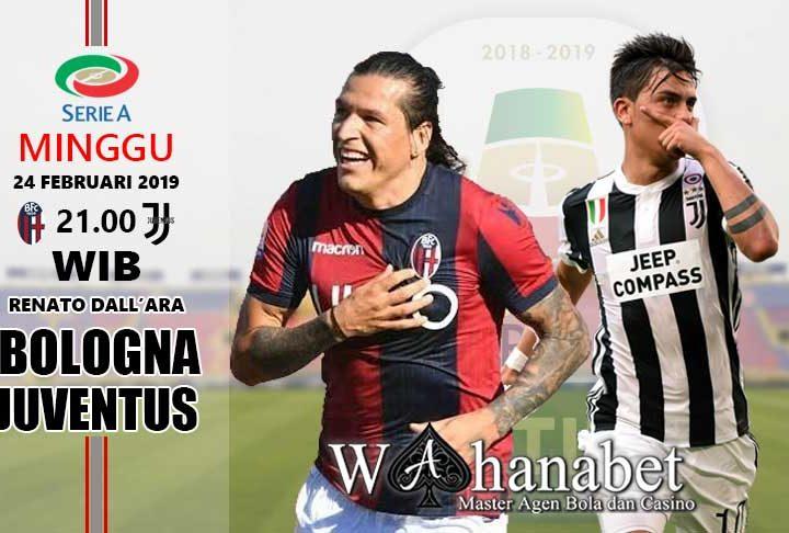 Pertandingan Bologna vs Juventus