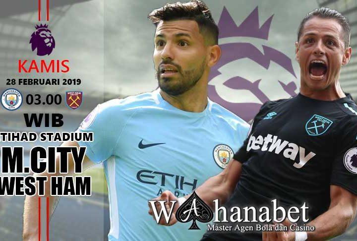 Pertandingan City vs West Ham