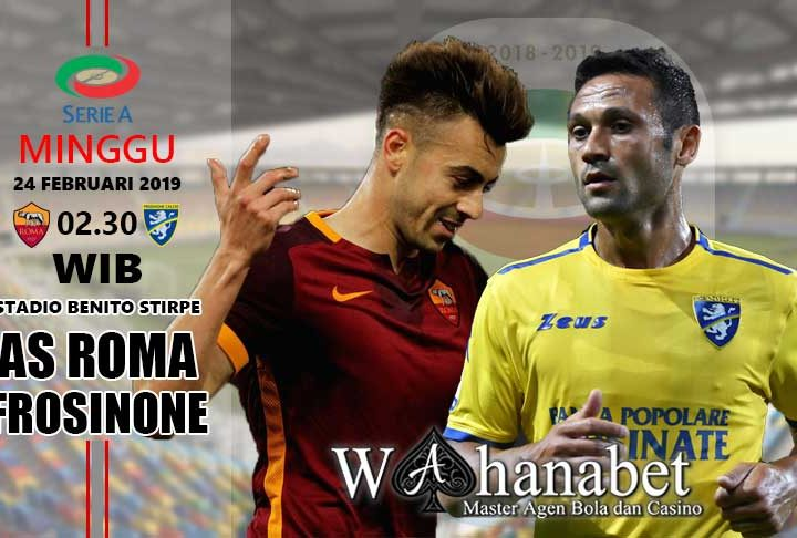 Pertandingan Frosinone vs Roma