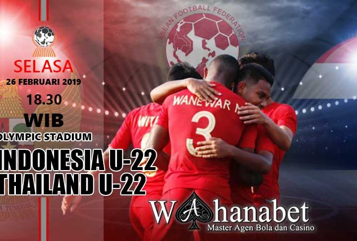 Pertandingan Indonesia U22 vs Thailand U22