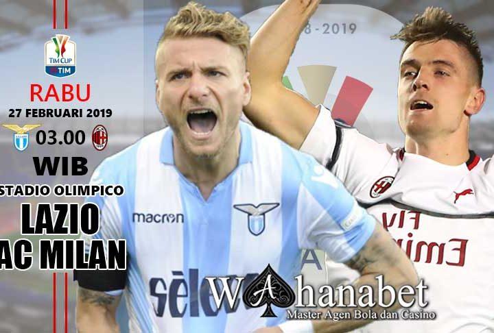 Pertandingan Lazio vs Milan