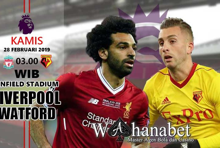 Pertandingan Liverpool vs Watford