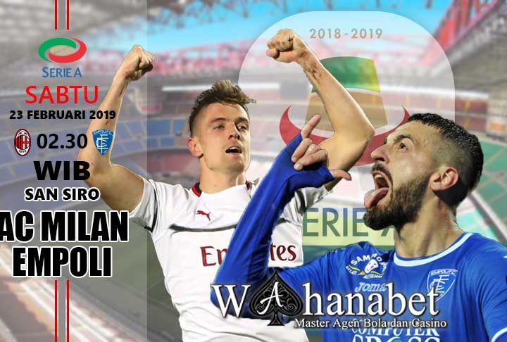 Pertandingan Milan vs Empoli