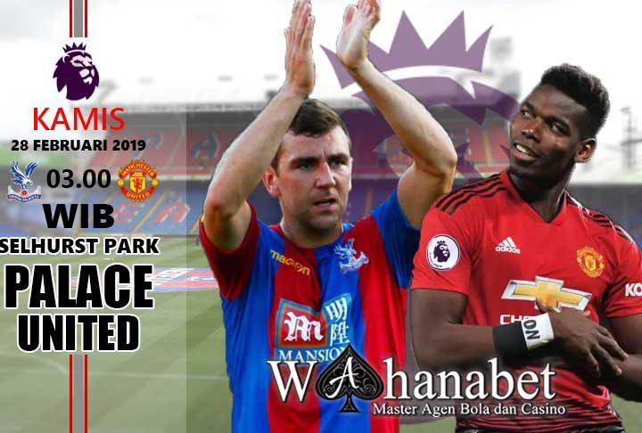 Pertandingan PalacevsManchester United