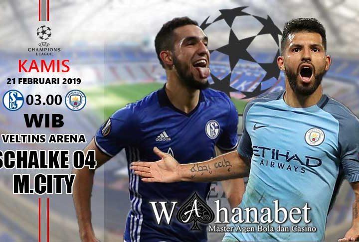 Pertandingan Schalke 04 vs Manchester City