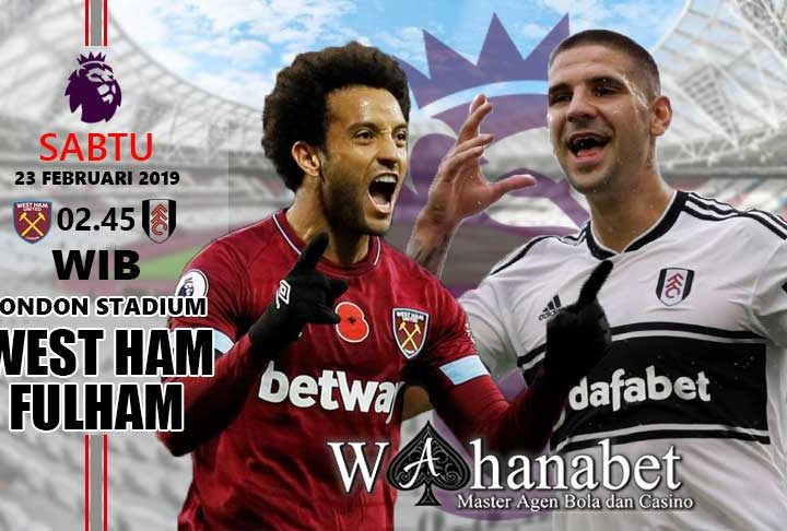 Pertandingan West Ham vs Fulham