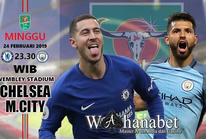 Pertandingan Chelsea vs Manchester City