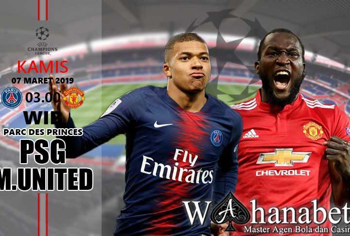 Pertandingan PSG vs Manchester United