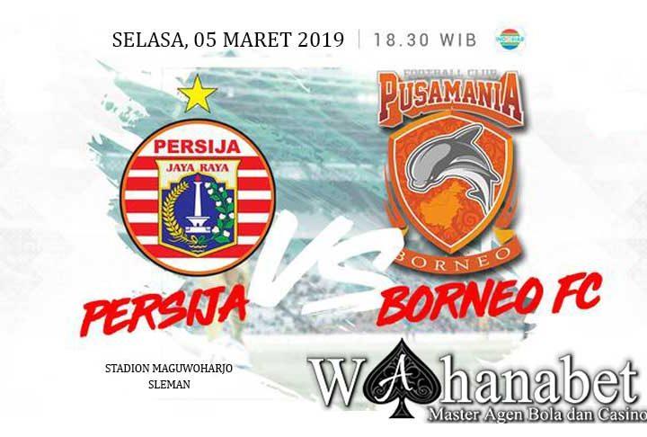 Pertandingan Persija vs Borneo