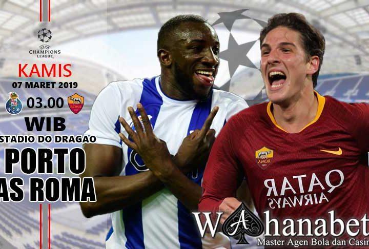 Pertandingan Porto vs Roma