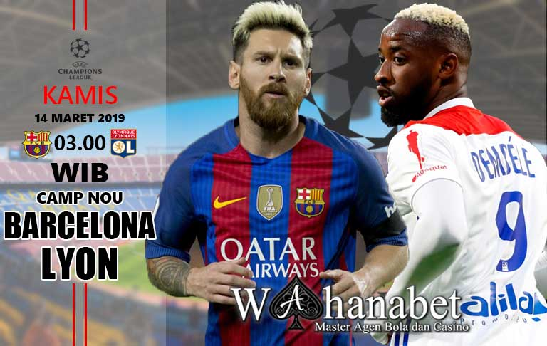 Pertandingan Barcelona vs Lyon