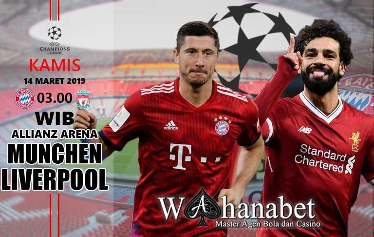 Pertandingan Bayern Munchen vs Liverpool