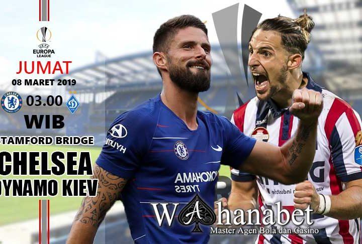 Pertandingan Chelsea vs Dynamo Kiev