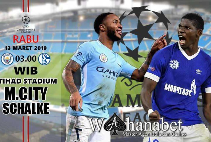 Pertandingan Manchester City vs Schalke