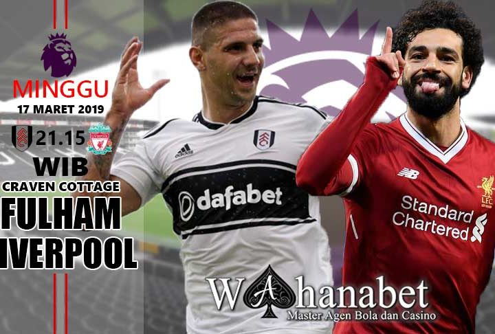 pertandingan fulham vs liverpool