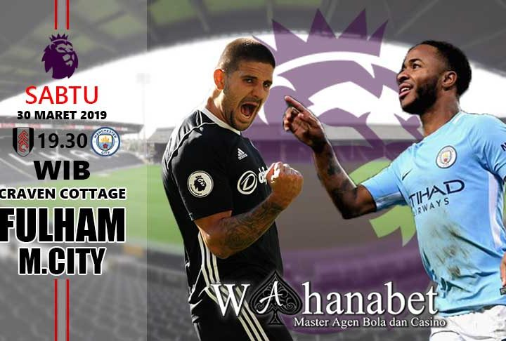 pertandingan fulham vs manchester city