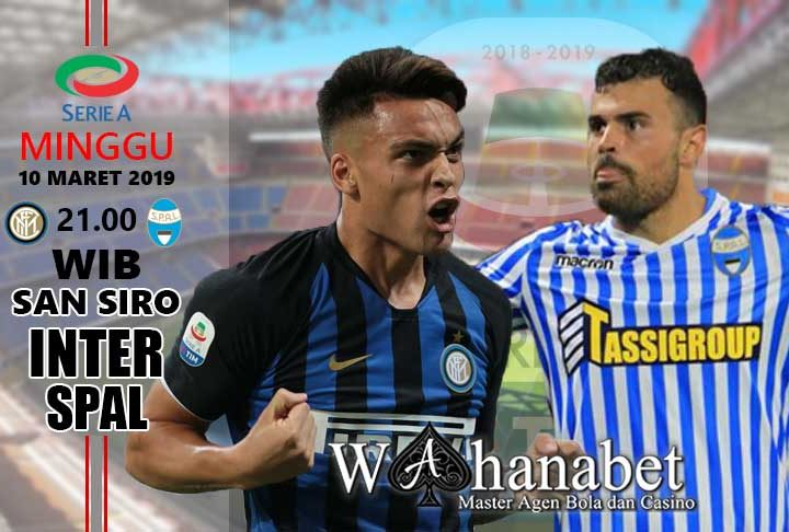 Pertandingan Inter vs SPAL