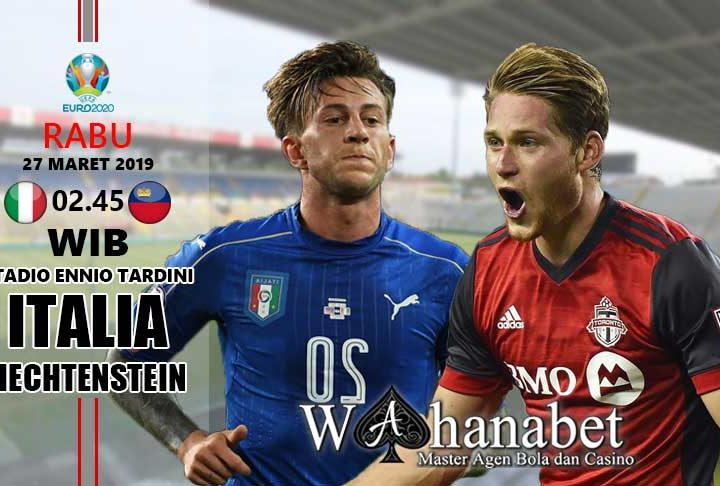 pertandingan italia vs liechtenstein