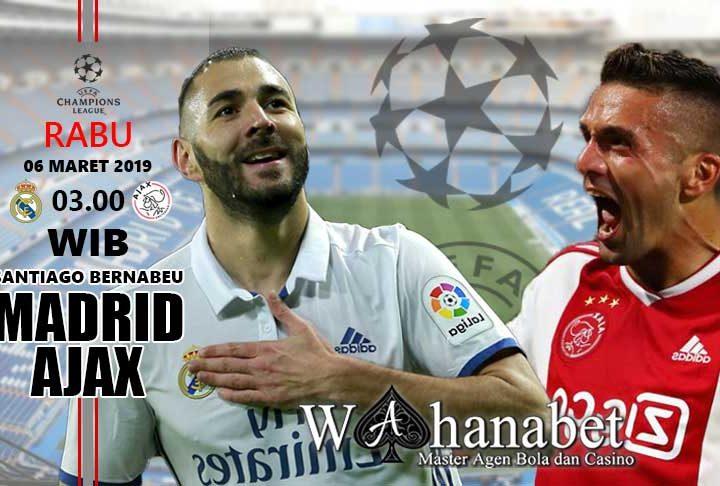 Pertandingan Madrid vs Ajax
