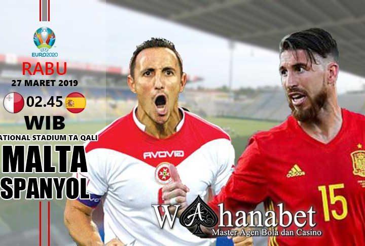 pertandingan malta vs spanyol