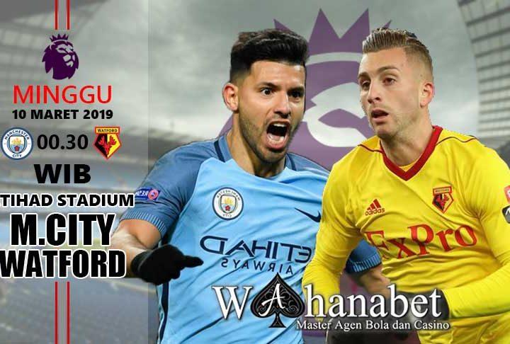 Pertandingan Manchester CityvsWatford